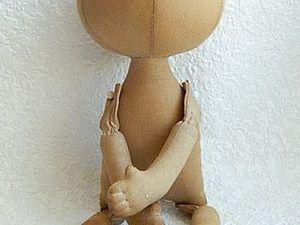 """Видео МК """"Как тонировать тело текстильной куклы"""". Ярмарка Мастеров - ручная работа, handmade."""