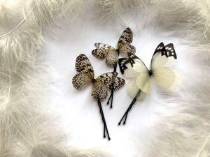 Для прически с Бабочками!. Ярмарка Мастеров - ручная работа, handmade.