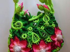 Видео сумки  «Фея Питахайи». Ярмарка Мастеров - ручная работа, handmade.