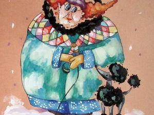Графика, Снег, формат А4. Ярмарка Мастеров - ручная работа, handmade.