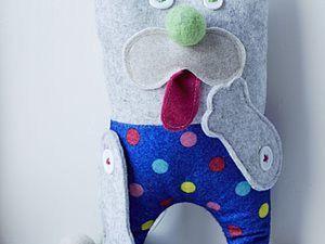 """Шьем развивающую игрушку """"Котик Мур"""". Ярмарка Мастеров - ручная работа, handmade."""