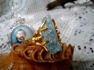 Видео: Кольцо  «Винтаж» , серебро,аквамарин. Ярмарка Мастеров - ручная работа, handmade.
