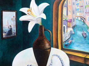 Венеция — картина маслом. Ярмарка Мастеров - ручная работа, handmade.