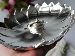 Дополнительные фотографии винтажного блюда. Ярмарка Мастеров - ручная работа, handmade.