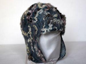 Новогодняя скидка на шапку-ушанку. Ярмарка Мастеров - ручная работа, handmade.