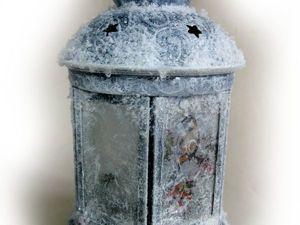 Серебряный подсвечник на морозе: мастер-класс. Ярмарка Мастеров - ручная работа, handmade.