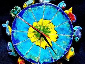 Атолл. Сердце океана.Часы. Ярмарка Мастеров - ручная работа, handmade.