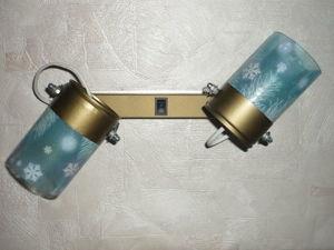 Мастер-класс по изготовлению светильника «Снежный вальс» из стеклянных бутылок. Ярмарка Мастеров - ручная работа, handmade.