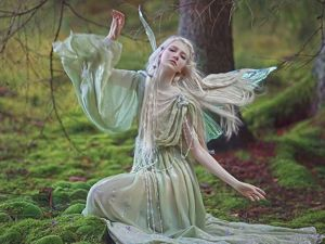 A Fascinating World of Forest Fairies by Agnieszka Lorek. Livemaster - handmade