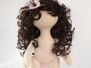 Как сделать круглую голову текстильной куколке. Ярмарка Мастеров - ручная работа, handmade.