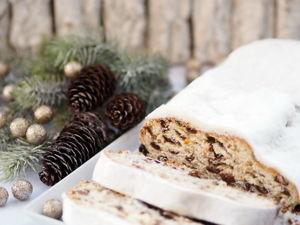Печем рождественский штоллен. Ярмарка Мастеров - ручная работа, handmade.
