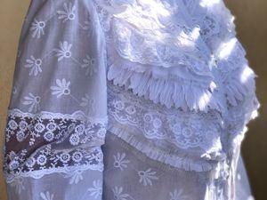 Новая Белая блуза. Ярмарка Мастеров - ручная работа, handmade.