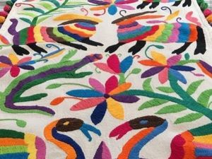 Otomi embroidery style. Livemaster - handmade