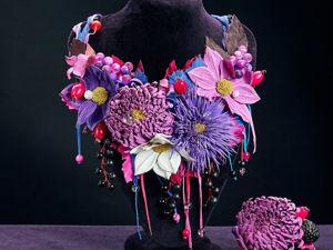 Акция одного дня на комплект  «Цветы с морозной свежестью». Ярмарка Мастеров - ручная работа, handmade.