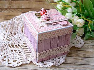 Мастер-класс: подарочная коробочка Magic Box своими руками. Ярмарка Мастеров - ручная работа, handmade.