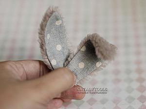 Мини-урок по армированию ушей у тедди-зайца. Ярмарка Мастеров - ручная работа, handmade.