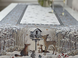 Прекрасная нежная новогодняя серия Лесные Друзья у Кормушки   в наличии. Ярмарка Мастеров - ручная работа, handmade.