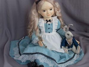 Алиса и Белый Кролик. Ярмарка Мастеров - ручная работа, handmade.
