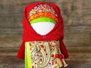Assembling a Folk Talisman Krupenichka Doll with Crops Inside. Livemaster - handmade