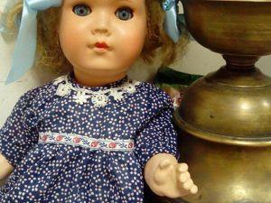 Реставрация куклы Sonnenberg. Часть 1. Ярмарка Мастеров - ручная работа, handmade.