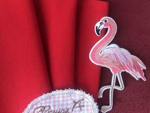 Наши новинки: Красная Рибана с лайкрой. Ярмарка Мастеров - ручная работа, handmade.