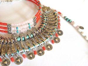 Создаём монисто-ожерелье а-ля рус. Ярмарка Мастеров - ручная работа, handmade.