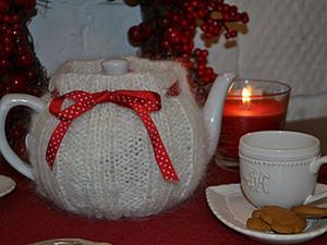 """Чайник """"Пушистый новый год"""". Ярмарка Мастеров - ручная работа, handmade."""