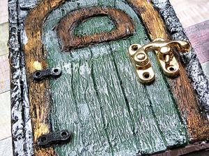 Декорируем блокнот Имитация двери Notebook Fairy Door. Ярмарка Мастеров - ручная работа, handmade.