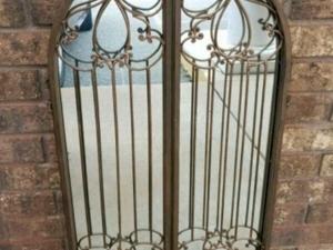 Кованые ворота-зеркала. Ярмарка Мастеров - ручная работа, handmade.