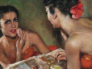Женский образ в искусстве. Ярмарка Мастеров - ручная работа, handmade.