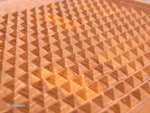 Двусторонняя доска с поверхностью для отбивания мяса. Ярмарка Мастеров - ручная работа, handmade.