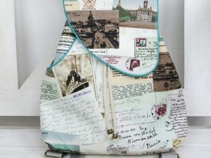 Шьем рюкзачок для путешествий. Ярмарка Мастеров - ручная работа, handmade.