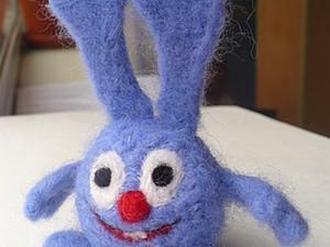 Валяем кролика Кроша - Часть1. Ярмарка Мастеров - ручная работа, handmade.