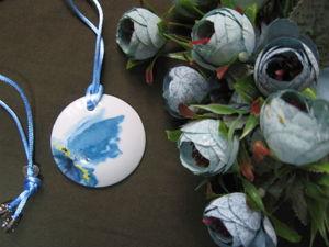 Новинка магазина — кулон  «Цветение». Ярмарка Мастеров - ручная работа, handmade.