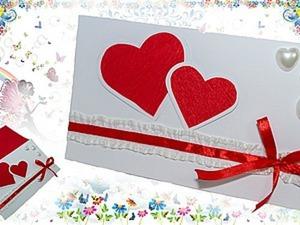 """Делаем очаровательную валентинку """"на скорую руку"""". Ярмарка Мастеров - ручная работа, handmade."""