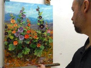Цветочное настроение от художника Bill Inman. Ярмарка Мастеров - ручная работа, handmade.