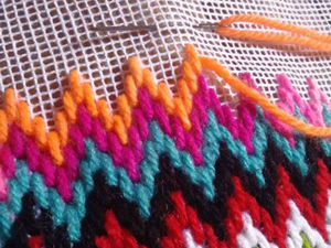 Florentine Bargello Embroidery: 25 Patterns for Different Difficulty Levels. Livemaster - handmade
