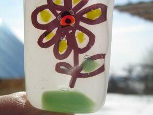 Фьюзинг эксперименты. Получение и впаивание в стекло медного рисунка. Ярмарка Мастеров - ручная работа, handmade.