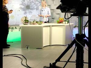 Мастер класс по фитодизайну во флорариуме  «Сердце»  на телеканале. Ярмарка Мастеров - ручная работа, handmade.