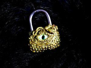 Создаем декор «Глаз дракона» из полимерной глины. Ярмарка Мастеров - ручная работа, handmade.
