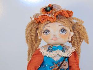 Шьем съемный воротничок для куклы. Ярмарка Мастеров - ручная работа, handmade.