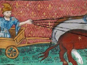 В одну телегу впрячь не можно коня и трепетную лань. Ярмарка Мастеров - ручная работа, handmade.
