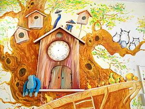 """""""Как я делал сказку"""". МК роспись в детской садике.. Ярмарка Мастеров - ручная работа, handmade."""