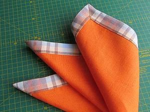 How to Sew Napkins in a Few Steps. Livemaster - handmade
