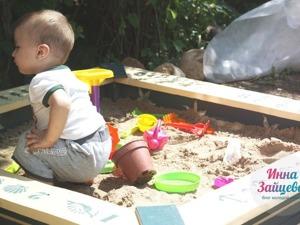 Мастерим детскую деревянную песочницу в морском стиле. Ярмарка Мастеров - ручная работа, handmade.