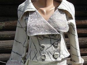 Метод изготовления условно-цельноваляной одежды сложного покроя. Ярмарка Мастеров - ручная работа, handmade.