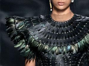 Необычные техники: как создавались два наряда коллекции Dior. Ярмарка Мастеров - ручная работа, handmade.