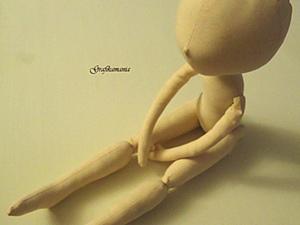 Основа текстильной куклы(часть третья). Ярмарка Мастеров - ручная работа, handmade.