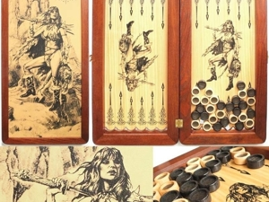 Акция!!! Скидка 30% — Нарды Amazonka-l. Ярмарка Мастеров - ручная работа, handmade.