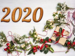 Новый 2020 год: идеи для декора. Ярмарка Мастеров - ручная работа, handmade.
